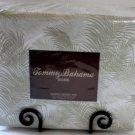 Tommy Bahama Queen Sheet Set Breezeway Palm 300 TC 100% Cotton Sateen New