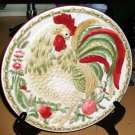 Royal Doulton Plate Chanticlaire Rooster Embossed Decorative Collectible Gift
