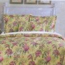 Waverly Comforter Sheet Set Summer Splendor Floral 8pc Queen Microfiber New