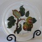 Portmeirion Plate Salad Dessert Pomona Teinton Squash Pear SW Ellis England 1982