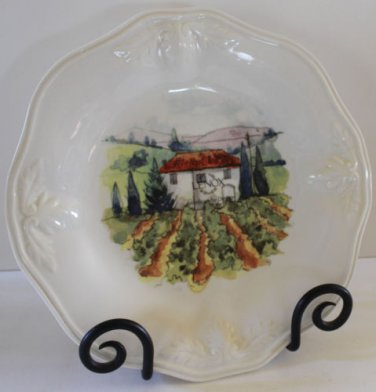 Lenox Butlers Pantry Gourmet Plate Tuscan Sun Accent Villa Countryside New