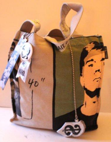 Andy Warhol Design Tote Grocery Shopper Self Portrait c. 1962 New York Loop New