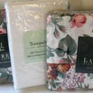 Ralph Lauren Sheet Set Lauren Allison Floral Pillowcases White Cotton 4pc New