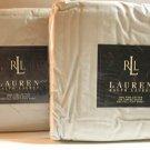 Ralph Lauren Polo Sheet Set Celadon Green Full Flat Deep Fitted 100% Pima New