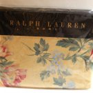 Ralph Lauren Sheet Parsonage Floral Yellow Full Deep Fitted 100% Cotton New