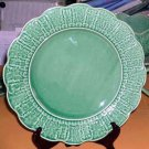 Bordallo Majolica Charger Platter Plate Picket Fence Ivy Grapes Picket Fence New