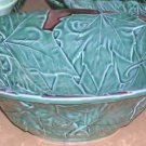 Bordallo Majolica Bowl Serving Maple Leaf Large Embossed Ceramic New