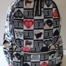 Harajuku Lovers Backpack Weekender Flight Travel School Marshmallow Funnies New