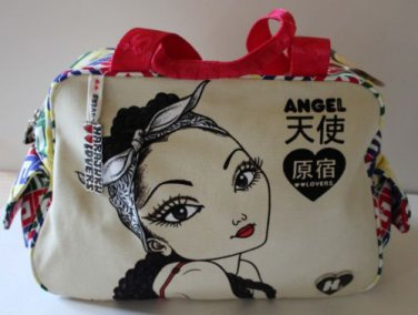 Harajuku Lovers Cargo Handbag Pin Up Girls A Fatal Attraction to Cuteness New