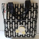 Harajuku Lovers Tote Shopper Handbag Bishoujo Amazement Black Off White New