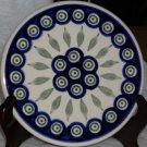 Boleslawiec Polish Pottery Peacock Trivet Suchi Serving Tray Stoneware Poland