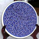 Boleslawiec Polish Pottery Trivet Daisy Chain Sushi Tray Stoneware Poland New