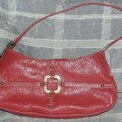 Guess Slouch Handbag Rose Desjon Babies Leather Cosmetic Purse Tote Studs New