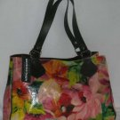 Maurizio Taiuti Handbag Italian Floral Genuine Leather Tote Made in Italy New