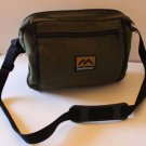 Brenthaven Small Messenger Cross Body Bag Green Canvas Notebook Gently Used New