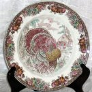 Johnson Bros Bowl Soup Berry Dessert Autumn Monarch Turkey New Made England