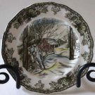 Johnson Bros Plate Sugar Maples Round Bread Butter Friendly Village England New
