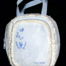 Laura Ashley Backpack Sky Blue Sherpa Shearling Girls Back Pack