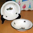 Johnson Bros Bowls Berry Brookshire Wild Birds Ducks Nature England Set 2 New