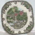 Johnson Bros Plate Dessert Salad Friendly Village Lily Pond Mill Porcelain New