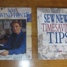 2 Books-from Sewing with Nancy Series-SewNews Timesaving Tips & 501 Sewing Hints