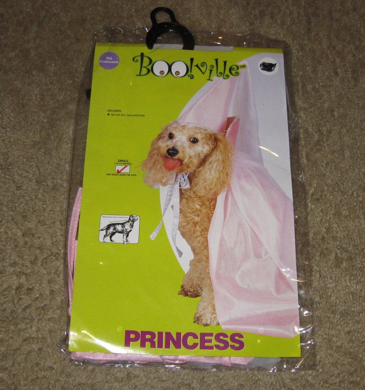 NIP-Princess In Pink Dog Halloween Costume-Size Small
