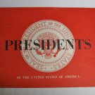 1960's Presidents of the United States Booklet-Litho-Washington Thru Kennedy