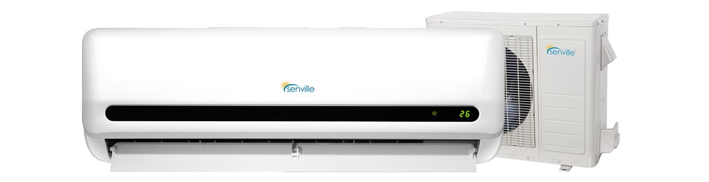 18,000 BTU LETO Series Efficient Cooling & Heating Mini Split Ductless Air Conditioner w/Remote