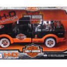 Harley Davidson 1949 Ford F-350 Pickup Truck 1/24 Scale MAISTO