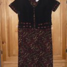 STUDIO I Women's Dress Suit Size 10P TALL PENCIL Fall Colors