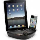 Docking Station Dual Charging 30-pin Black for Apple iPhones, iPads, iPods