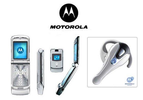 Motorola RAZR V3 Bluetooth Combo