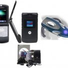 Motorola V3 - Black Razr Bluetooth Combo