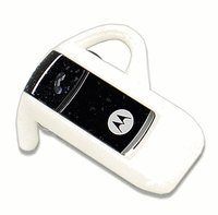 Motorola H3 Bluetooth Headset (White)