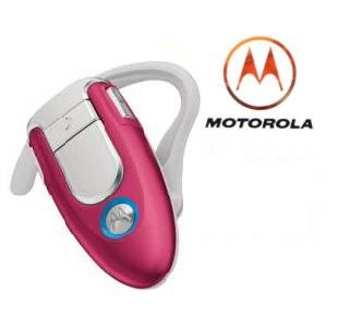 Motorola H500 Pink Limited Edition Bluetooth Headset