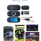 "Sony PSP Black ""Value Bundle"" - 21 Games + PSP Car Kit"