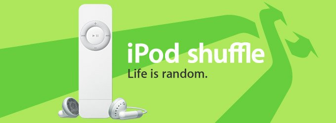 Apple iPod Shuffle 1.0GB Pocket-Size Digital Music MP3 Player