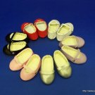 """red  BALLET style shoes- 18"""" dolls- American Girl"""