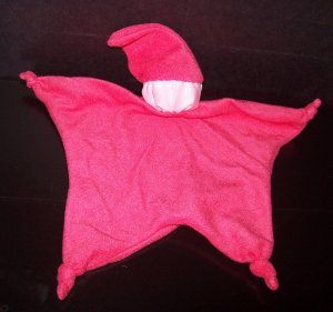 Bright Pink Blankey Baby, Blanket Comfort Doll - Free Shipping