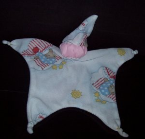 Sleeping Bears Blankey Baby, Blanket Comfort Doll - Free Shipping