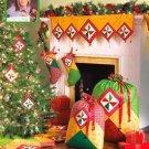 Simplicity 2723 Christmas stocking, ornaments, tree skirt