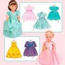 Simplicity 3547 Doll Clothes Dresses