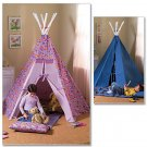 Butterick 4251 Teepee and Mat