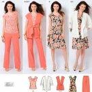 Simplicity 2618 Plus Size Jacket, Vest, Pants, dress 20w-28w
