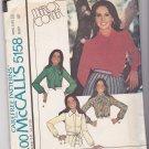 McCalls 5158 Marlos Corner set of blouses 18