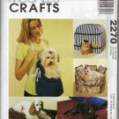 McCalls 2270 Pet Accessories - House, sofa, and bed