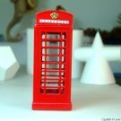 Telephone booth piggy money bank