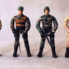 1:18 Army men toy soldier with rifle 4pcs