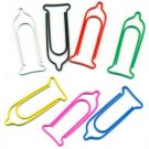 Lot of 96pcs Paper Clip INJECTOR Shaped animal/Bookmark