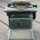 Vintage Typewriter Piggy Bank/Money coin Saver